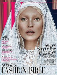Kate Moss santa e profana su W Magazine Marzo 2012 - Non c'è nulla da fare, mai nessuno come Kate Moss ha un gusto così innato per lo scandalo, una voglia sfrenata di osare e dopo averci fatto vedere...