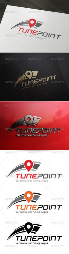 Tune Point Logo — Vector EPS #black #tuning • Available here → https://graphicriver.net/item/tune-point-logo/5246660?ref=pxcr