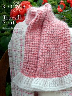Truesilk and Kidsilk Haze Scarf Nice stitch which can be used in a soft sweater. DL free pattern