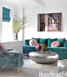 Дизайн интерьера в стиле эклектика от Fawn Galli