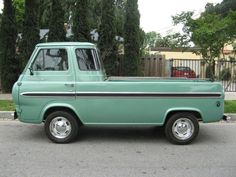 Image Detail for - FORD ECONOLINE E100 FLAT NOSE TRUCK -1964- Nostalgia Cycle