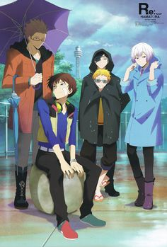 Hamatora~~ Murasaki, Nice, Ratio, Birthday, and Art