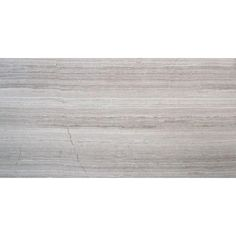 Bathroom stone against tub or on wall $79/case MS International White Oak 12 in. x 24 in. Polished Limestone Floor and Wall Tile (10 sq. ft. / case)-TWHTOAK12240.38P at The Home Depot