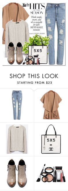 """""""Shein"""" by oshint ❤ liked on Polyvore featuring moda, Chanel, Laura Geller y shein"""
