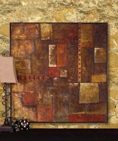 Autumn Blocks Wall Art