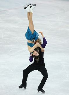 Meryl Davis and Charlie White of the United States compete in the Team Ice Dance Free Dance during day 2 of the Sochi 2014 Winter Olympics