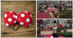Absolutely Perfect Minnie Mouse Bow Hair Ties
