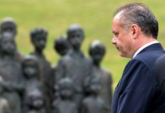 Slovak President Andrej Kiska honored June 10 victims killed by the Nazis during World War II in the Czech village of Lidice .