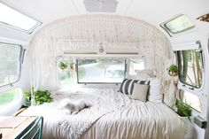 Airstream TV & Storage Built-Ins – Mavis the Airstream