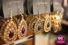Any girl would feel like a goddess in these earrings - Oshawa Centre Style Approved by @Real Life Runway - Find it at Reitmans