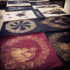Go check out all the cool things @poisonappleprintshop is doing with #jacquardscreenprintinginks #jacquardink #screenprint