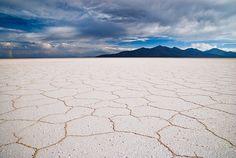 Salar de Uyuni (the world's largest salt flat), Bolivia