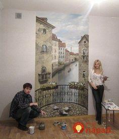 Mural Wall Art, Mural Painting, Wall Art Decor, Wall Art Designs, Wall Design, House Design, Wall Clock Sticker, Wall Sculptures, Wall Wallpaper