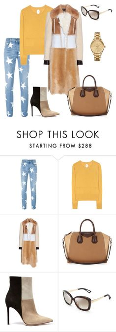 """""""Street style"""" by kamiren ❤ liked on Polyvore featuring STELLA McCARTNEY, Jardin des Orangers, Calvin Klein Collection, Givenchy, Gianvito Rossi, Christian Dior, Lacoste, women's clothing, women's fashion and women"""