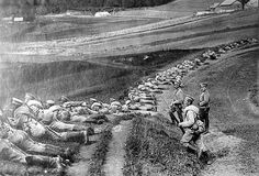 Russian infantry. 1914-1915