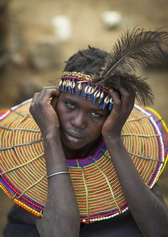 Pokot woman, Kenya by Eric Lafforgue via Flickr.