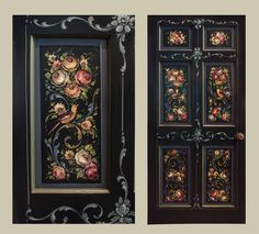 This is a door David Jansen recently painted in his home in Pennsylvania.  He has painted MOST of the doors there using GlobalArt Heritage Multipurpose Acrylics and they are BEAUTIFUL!!  Looking forward to painting some gorgeous doors as well!!
