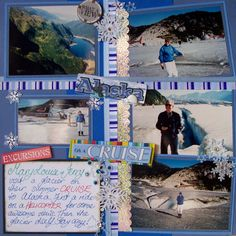 Cruise Scrapbook Pages Ideas | Iggy Jingles Crafts: Latest Scrapbook pages Part Two