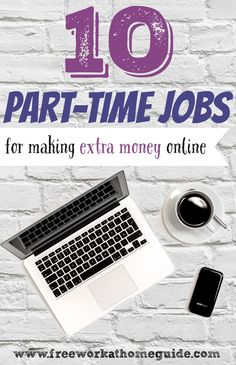 Copy Paste Income Earn Extra Money - 10 Part-Time Online Jobs for Earning Extra Money at Home - Free Work at Home Guide - Money like that being deposited directly into your bank account.while you watch a movie, or go out to the park with the kids? Legitimate Work From Home, Work From Home Jobs, Make Money Fast, Make Money From Home, Earn Money Online, Make Money Blogging, Money Tips, Saving Money, Online Earning