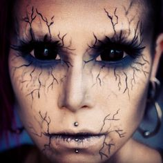 special effects makeup...I love the black vein look