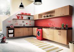 móveis embutidos para apartamento cozinha moderna