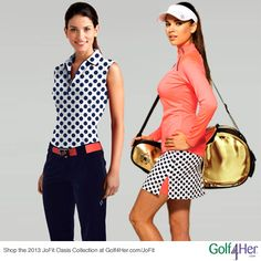 New Oasis Collection for #golf and #tennis from Jofit   #golf4her