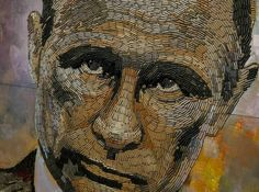 A Ukrainian artist uses 5,000 cartridges in her portrait of Vladimir Putin - The Globe and Mail