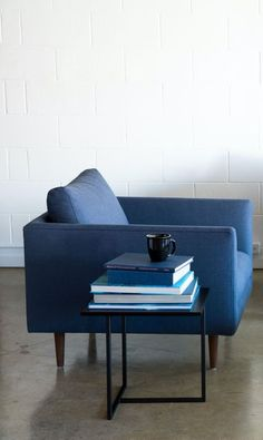 Mid-century inspired, the Carl armchair is as comfortable as it is decadent.: