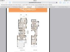 Embassy by Plunkett floor plan