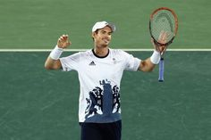 Murray wins historic second gold in epic final -   .