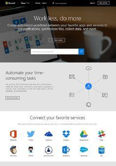 Microsoft wird seine eigene Version von IFTTT zu schaffen (wenn dies dann, dass) Werkzeug, das als Fluss genannt wird. Der Service ermöglicht Ihnen Anwen