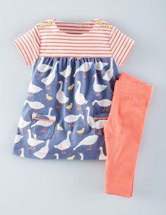 Set aus Kleid mit Mustermix & Leggings 73219 Kleider bei Boden