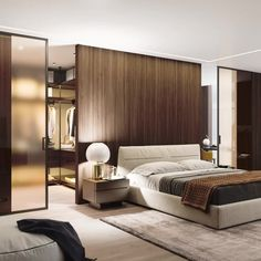 📌 Modern Bedroom Inspiration or Bedroom Design Ideas « ANIPO Modern Luxury Bedroom, Luxury Bedroom Design, Master Bedroom Interior, Modern Master Bedroom, Modern Bedroom Decor, Bedroom Furniture Design, Home Room Design, Master Bedroom Design, Luxurious Bedrooms
