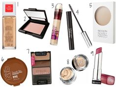 Back to School Makeup Kit | Definitely wouldn't wear/buy all of these cause I don't need all of it but it sounds like a pretty, natural look :)