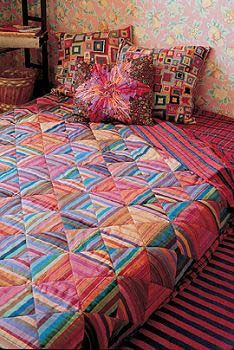 kaffe fassett stripes quilt - Google Search