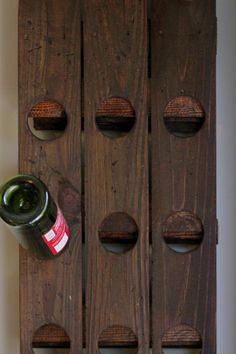How to make the wine rack