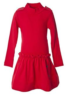 Lili Gaufrette Big Girls' Red Party Casual Dress 10