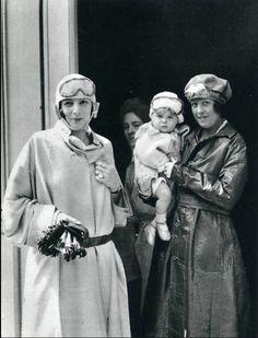 Jacques Henri Lartigue- Bibi , et son fils, 1923