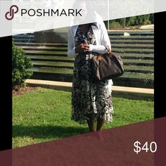 Selling this Summer midleg dress on Poshmark! My username is: brina890. #shopmycloset #poshmark #fashion #shopping #style #forsale #Dresses & Skirts
