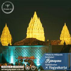 Yogyakarta, selain dikenal sebagai Kota Pelajar juga dikenal dengan seni-budaya yang masih khas Partners. Salah satunya adalah Sendratari Ramayana (Ramayana Ballet) di Prambanan. Drama ini diambil dari kisah Ramayana dan telah berlangsung sejak 1961. Kunjungi Jogja dan nikmati berbagai seni-budayanya yuk Partners!