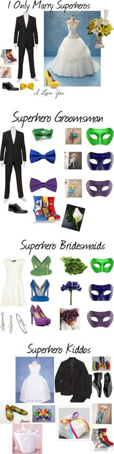 """""""Wedding Night"""" by fashiondiva604 on Polyvore - I probably won't do a superhero themed wedding, but this was just too cool not to pin!"""