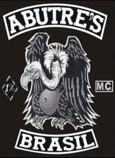 Abutre's MC / Vultures (Motorcycle Club) – One Percenter Bikers – Speed Team Baggers, Audi Tt, Ford Gt, Volvo, Peugeot, Mc Logo, Volkswagen, Toyota, Old Motorcycles