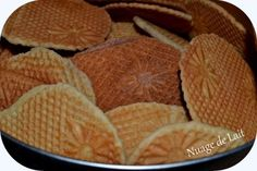 Northern Dry Waffles or Dunkirk or strinj Breakfast Recipes, Snack Recipes, Cooking Recipes, Snacks, Desserts With Biscuits, French Crepes, Crepe Recipes, Cooking Chef, Macarons