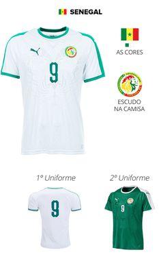 a5a8dbb3ae 32 melhores imagens de 32 Camisas das Seleções da Copa do Mundo ...