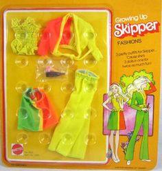 Growing Up Skipper Fashion #9513 Variation