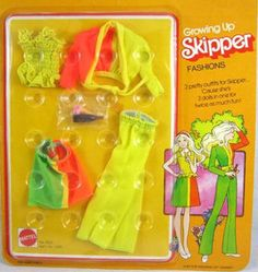 Growing Up Skipper Fashion #9513 Variation
