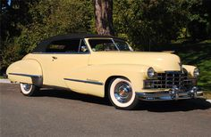 Sold* at Scottsdale 2007 - Lot #746 1947 CADILLAC SERIES 62 CONVERTIBLE