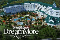 Dollywood announces new DreamMore resort in Pigeon Forge, TN opening Summer 2015. More details at: http://www.pigeonforgetnguide.com/things-to-do/dollywood-announces-new-resort-and-roller-coaster/