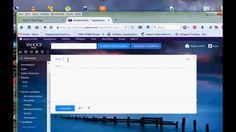 Νέο Yahoo Mail: Πως στέλνω emails, ρυθμίσεις, εισαγωγή επαφών από facebook, GMail, Outlook.com κλπ, δημιουργία φακέλων Tool Box, Audio, Facebook, History, Videos, Dopp Kit, Historia, Toolbox
