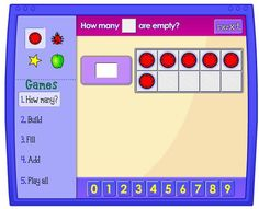 NCTM has ten frame games that support counting, cardinality, and partners of We like that they give students the option to move 5 all at once or individual dots. Students quickly realize the five shortcut after all of that clicking and dragging! Numbers Kindergarten, Math Numbers, Kindergarten Teachers, Math Classroom, Teaching Math, Teaching Ideas, Classroom Ideas, Kindergarten Addition, Teaching Numbers